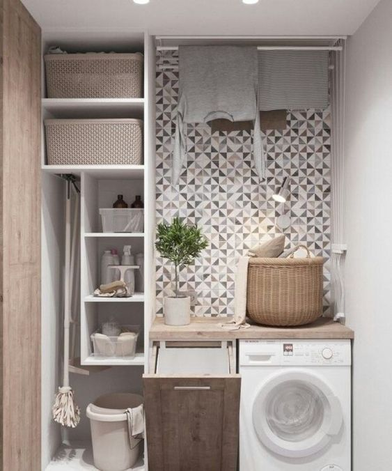 84 Creative Laundry Room For Small Space Simphome