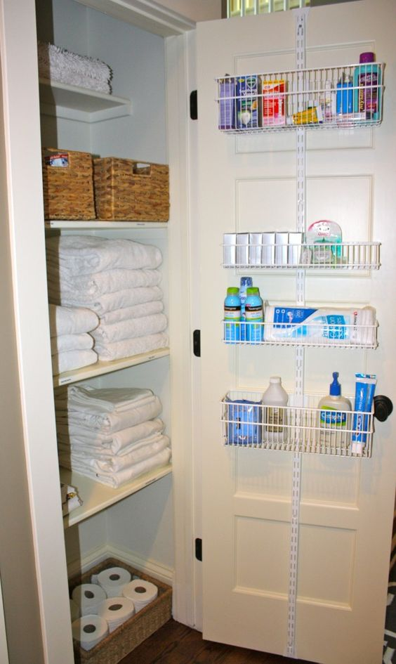 85 Linen closet organizing project Simphome