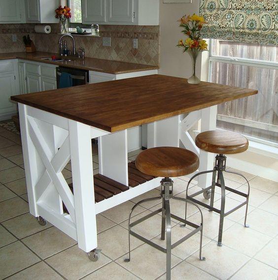 88 Kitchen island BY Annawhite Simphome