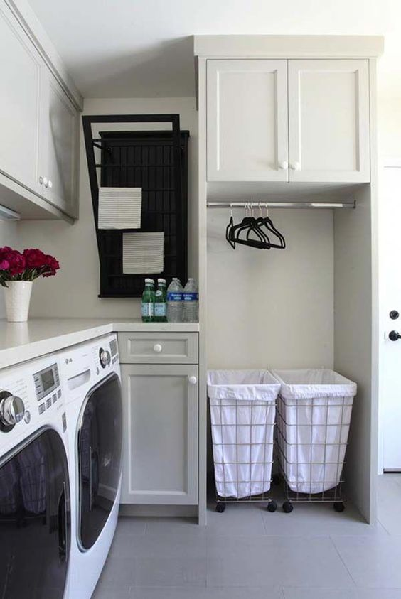 90 Inspiring small laundry room Simphome
