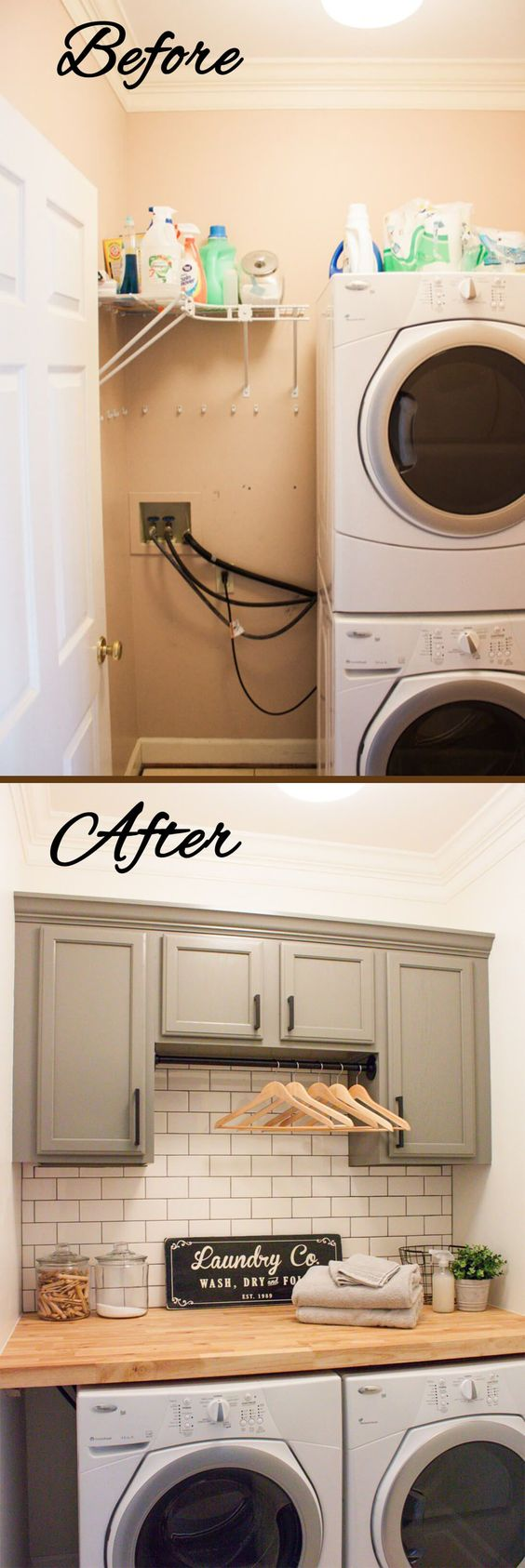 91 Best Budget friendly Laundry room makeover Simphome