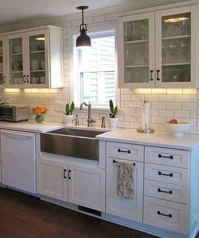 92 How to Coordinate White Appliances with Cabinets and Countertops Simphome