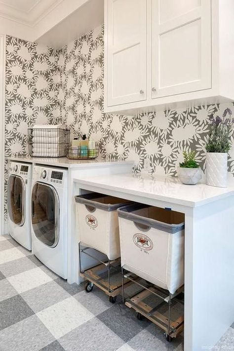 94 Contemporary Laundry Room with Storage Simphome