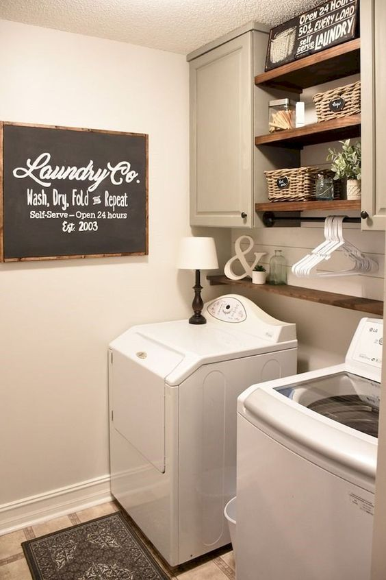 99 a linen closet or a common laundry room Simphome