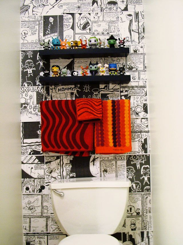 8. Graphic Wall Paper