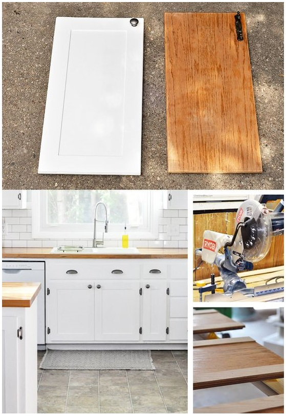 1. DIY project update your kitchen on a budget@simphome