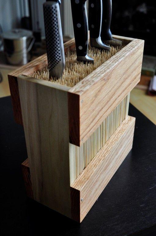 10.10.Bamboo skewer knife blocks @Simphome