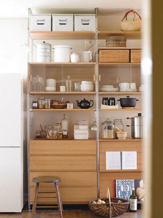 101 Kitchen storage cabinet idea inspired by Muji Via SImphome com