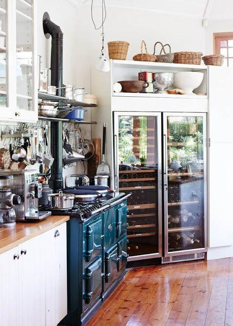 113 French Open kitchen concept via simphome