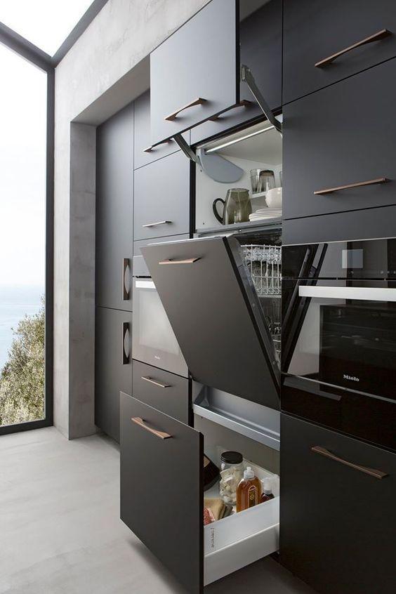 117 2 Best Modern Kitchen Cabinets Ideas via Simphome