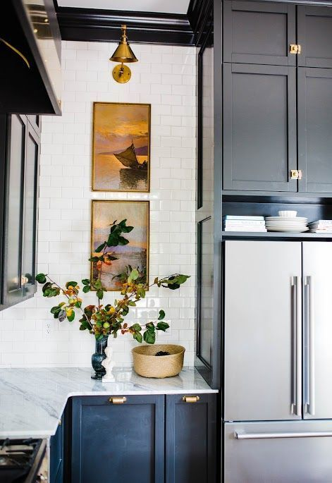 119 Art Cabinetry color via Simphome