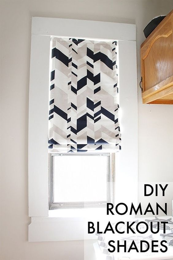 12.20 Roman shade makeover
