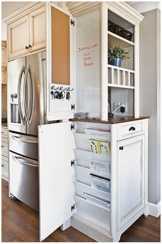 125 15 Family Command Center Ideas To Help You Organize Like A Pro via Simphome