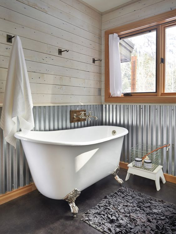 13 insanely beautiful rustic barn bathrooms Simphome