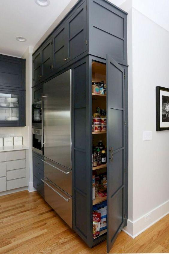 136 Sweet White Kitchen Cabinet Design Idea via Simphome