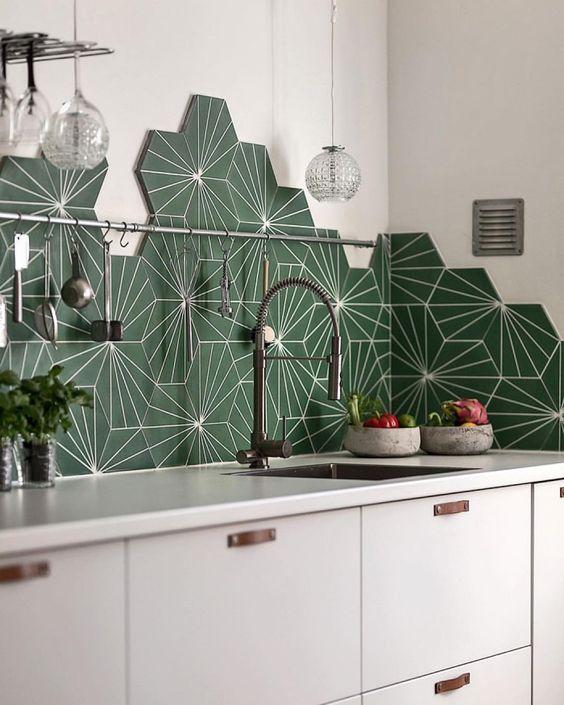 142 Marrakech Design Dandelion Kitchen tiles via simphome