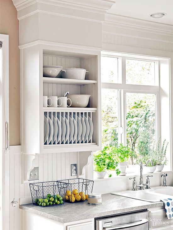 143 Add a Plate Rack to the Wall via simphome