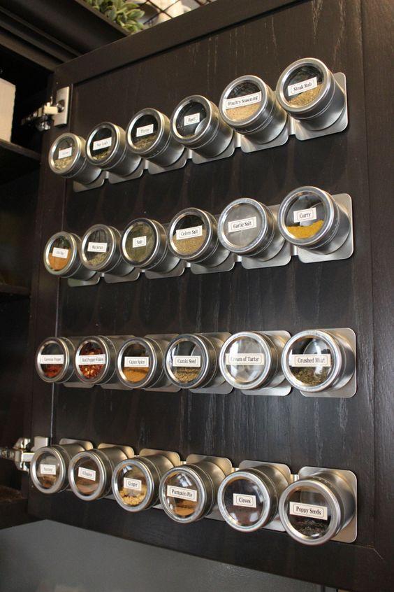 160 Magnetic Spice Racks via simphome