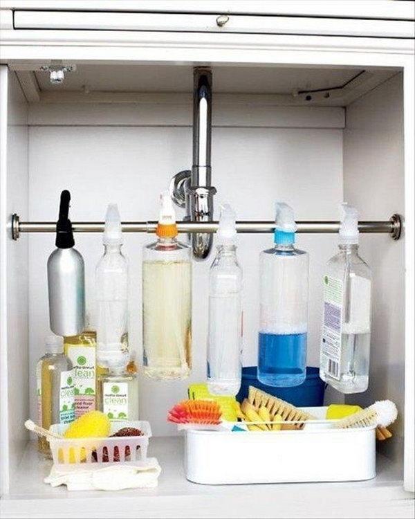 163 Cleaner Organizer via simphome