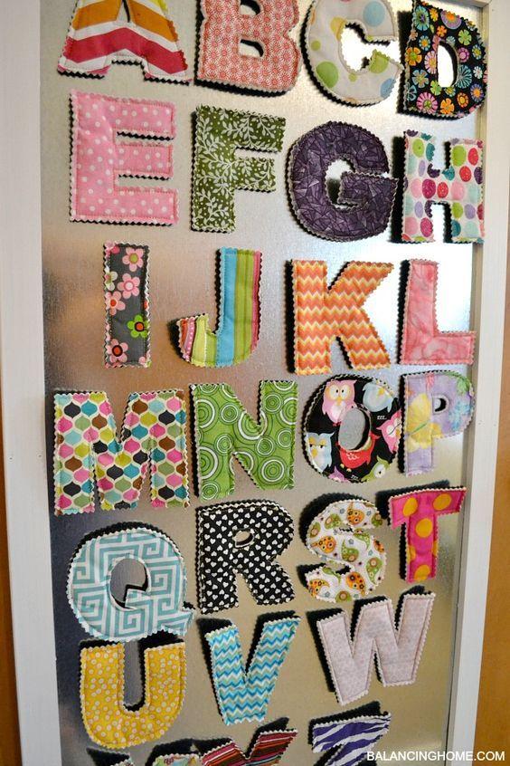 174 Big Girl Room Doors DIY Magnet Board via simphome
