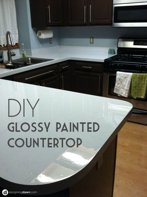 176 DIY Countertop 20 Easy Tutorials to Revamp Your Kitchen via simphome