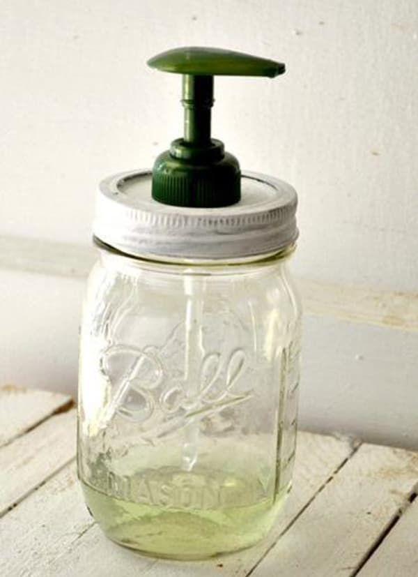 181 Mason jar dispenser via simphome