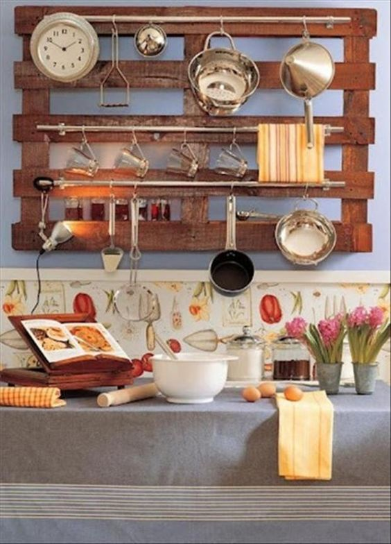 184 Kitchen Organization this is Top 15 Kitchen Rail Storage Ideas via simphome