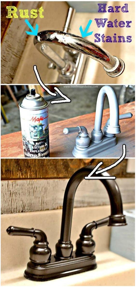 188 Upgrade Your Furniture Using Spray Paint via simphome