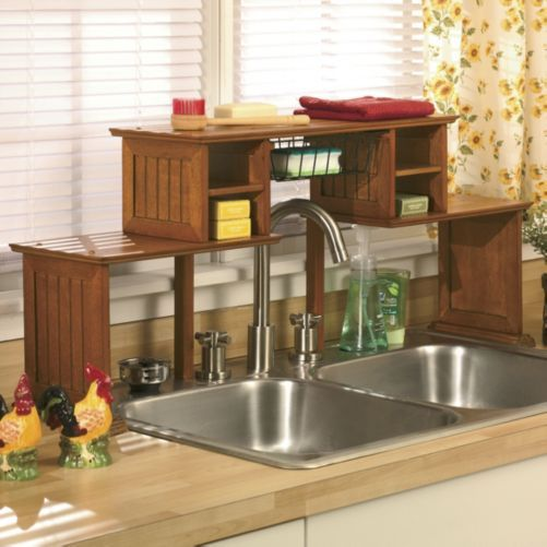 190 1 Over the Sink Shelf from Through the Country Door via simphome