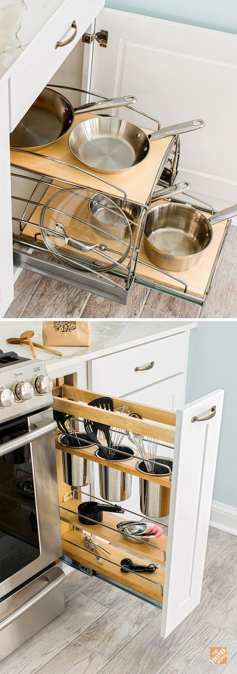 194 Storage Solutions for Your Kitchen Makeover via simphome
