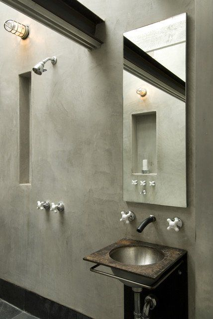 2 Glamorous Interior Designs With Concrete Walls Simphome