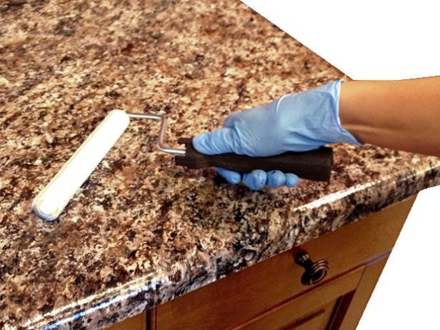 2 Painted Laminate Kitchen Countertop Simphome 5