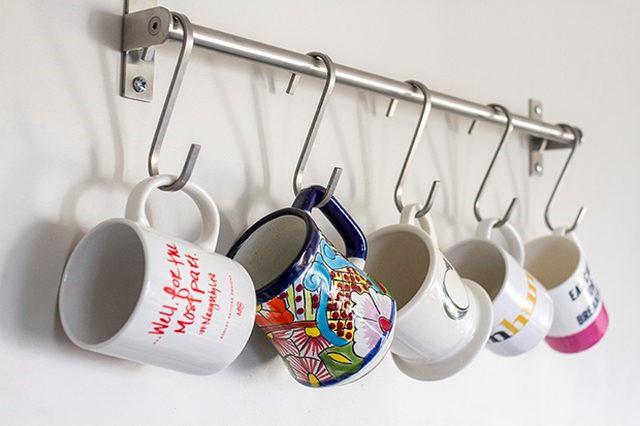 20.Hanging cups idea