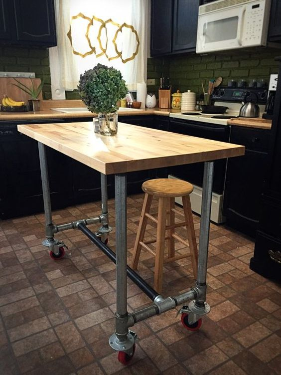 206 Finest Kitchen Carts and Island Ideas 25 ideas via simphome