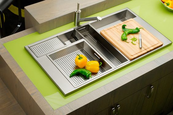 208 Coolest Kitchen Sinks on the Planet The Transformer of Sinks via simphome