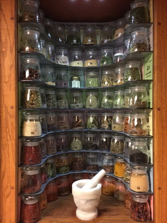 233 Build a Periodic Table of Spices Rack via simphome