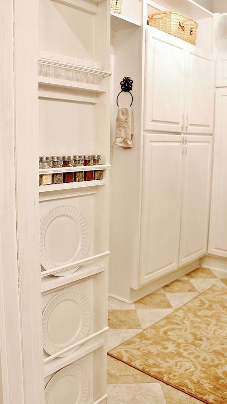 245 How to Make a Built In Spice Rack after via simphome