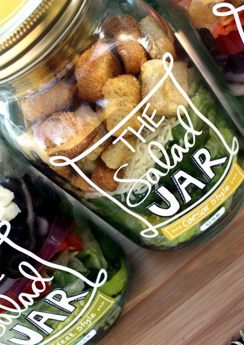 26 DIY Transparent Jar Labels via simphome com