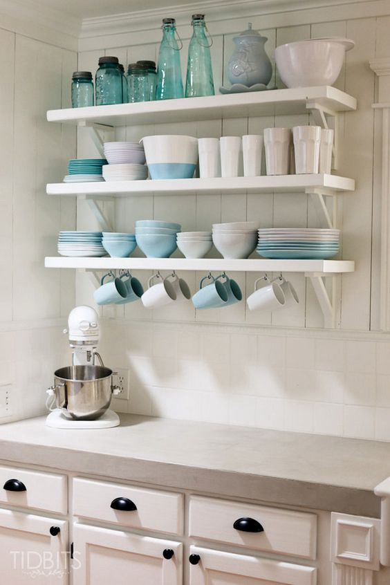 275 Nice Open Shelving Ideas for Minimalist Interior via simphome