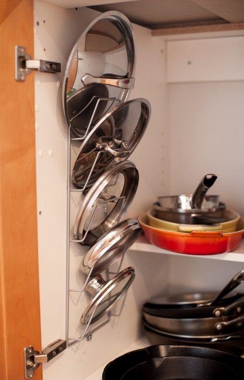 29 Pot Lid Storage via simphome com