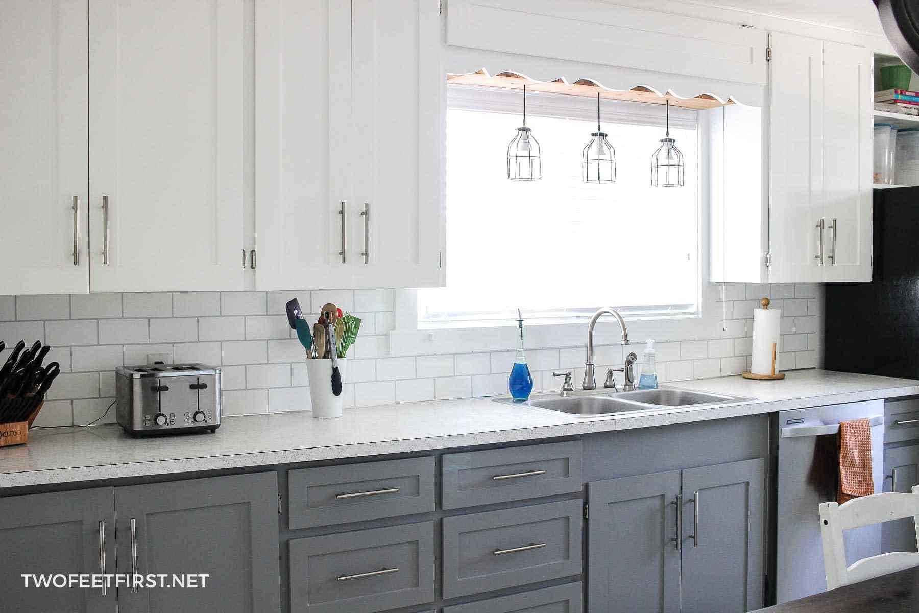 3.DIY Shaker Kitchen Cabinet Doors