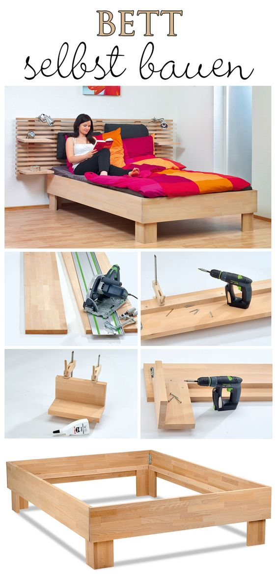 3 how to build a bed yourself Simphome