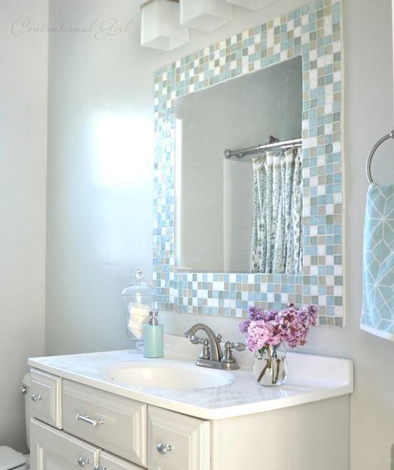 4. Tile Mirror Frame