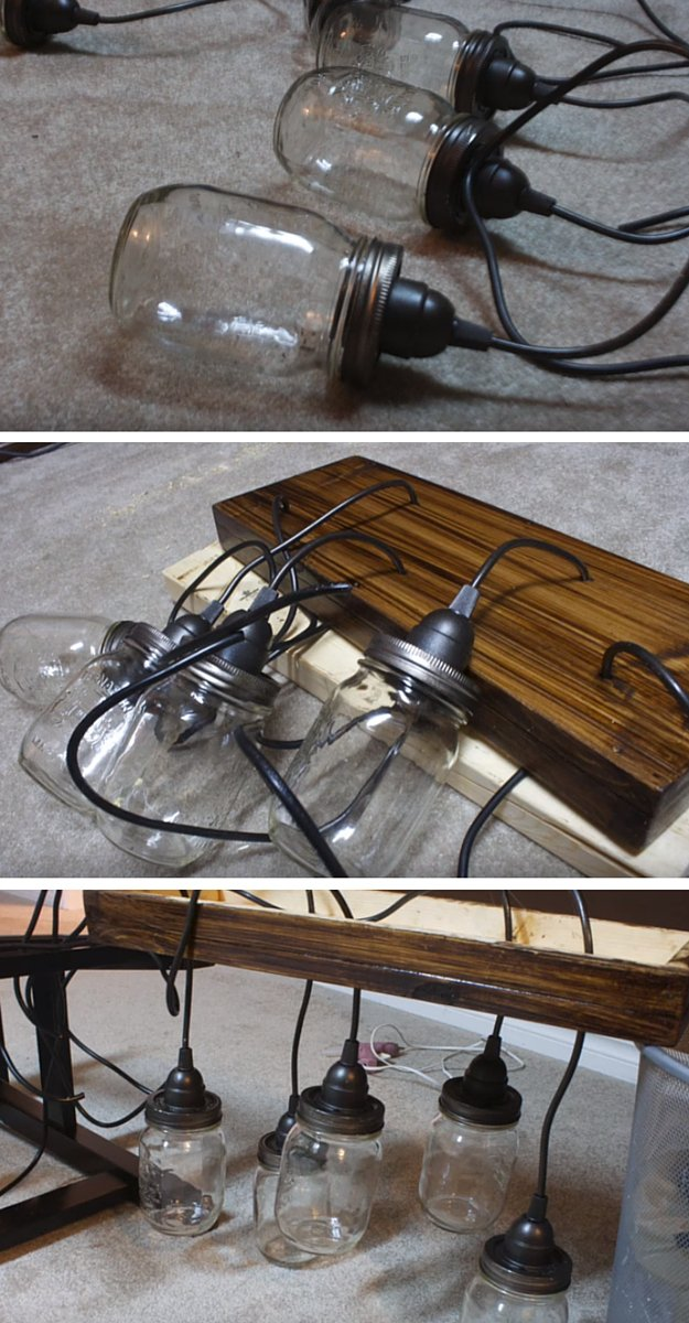 30 Mason Jar Lamp via simphome com 2