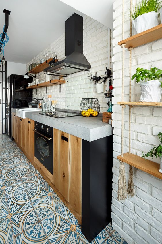 320 Open space kitchen idea featured in visuellro via simphome