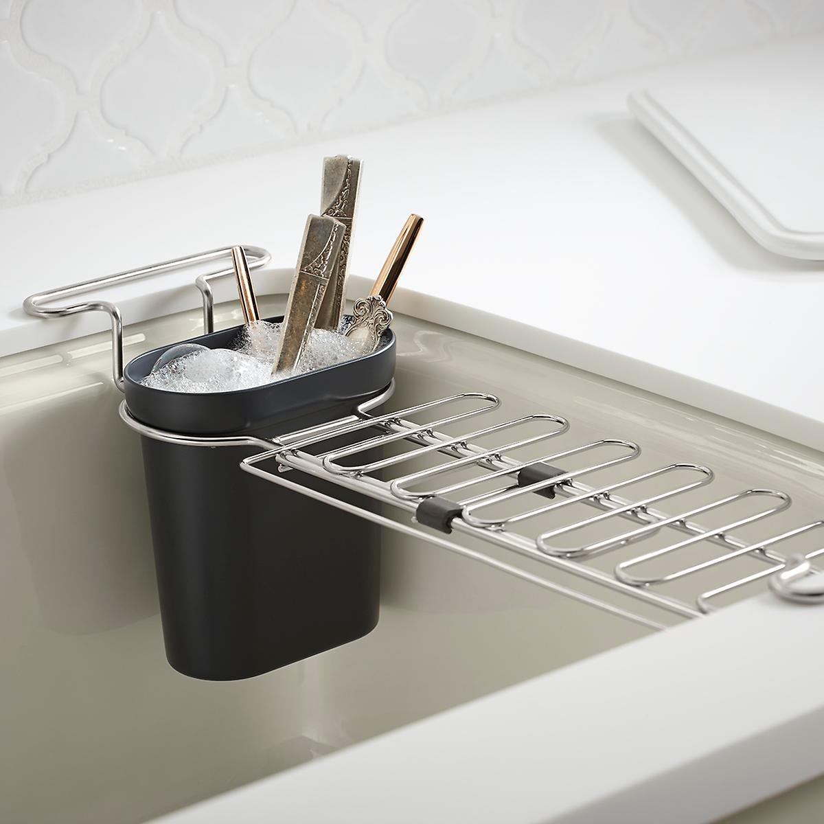 327 Set a Kitchen Sink Utility Rack via simphome