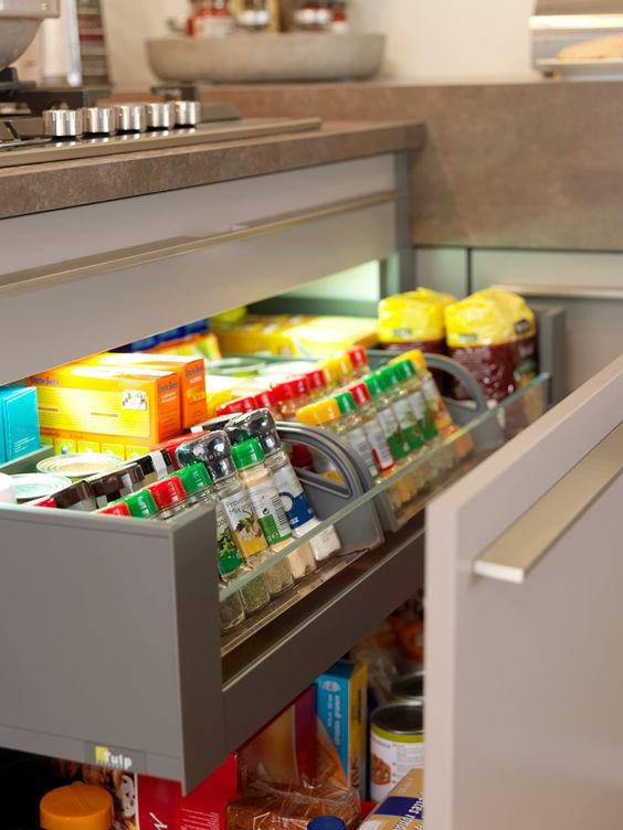 331 Learn how to create more storage space in the drawers with tray layouts via simphome