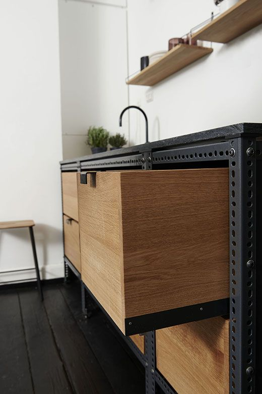 332 A Rustic kitchen cabinet by Frama via simphome