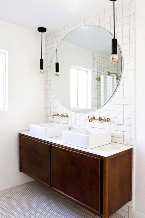 36 Mid Century Modern Bathroom Ideas 04 1 Kindesign Simphome