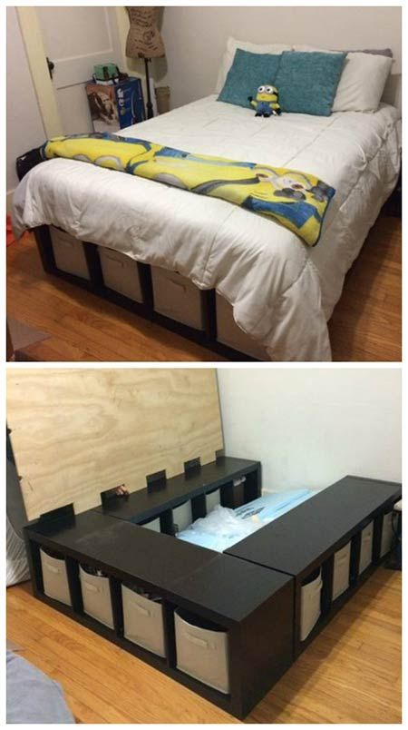 4 1 How To Make A Shelf Storage Bed Simphome